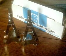 NOS CHRISTOPHE CHROME STEEL SMALL TOE CLIPS