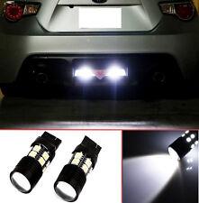 Projector LED Reverse Light Bulbs T20 7440 7441 7443 7444 for Nissan 350 Z 2pcs