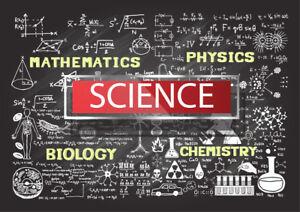 Science Power educational wall art Beautiful poster Choose Size