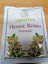 10 Hennè rosso naturale - 10 buste da 100 gr - Erbamea