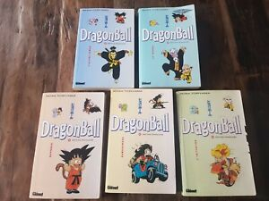 Lot 5 manga Dragon Ball N°1-2-3-4-5-Akira Toriyama- Glenat