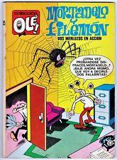 OLÉ! nº  35: MORTADELO Y FILEMÓN 2 merluzos en acción. 1ª edición 1971 Bruguera