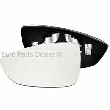 For VW Scirocco 08-15 left passenger side heated wing door mirror glass clip on