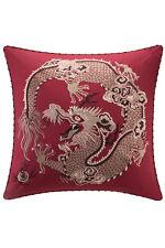 Natori Fretwork dragon Euro sham Embroidered NA11-2267