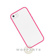 Skech Glow Apple iPhone 5/5S/i5S Case - White/Pink Case Cover Shell Guard
