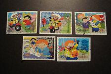 """2006 Australia Self Adhesive Stamps~""""Postie Kate""""~Fine Used, UK Seller~"""