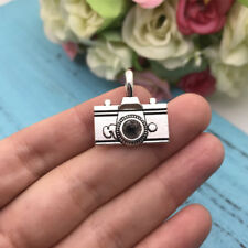 2pcs Large CAMERA Charm Tibet silver Charms Pendants DIY Jewellery Making crafts
