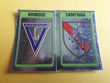 SCUDETTO BRINDISI-CAMPANIA ALBUM CALCIATORI PANINI 1986/87 n°532  rec