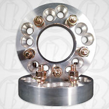 "5 x 4.5"" / 5 x 4.75"" To 5 x 135mm Wheel Adapters / 1.25"" Spacers W/ Studs & Nuts"