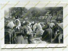Foto, Wehrmacht, Bevölkerung auf dem Markt in Kremenez, Ukraine, c 20510