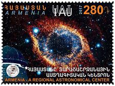Armenia Armenien Armenie MNH** 2017 Armenia as a Regional Astronomical Center
