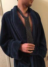 Vintage Silk narrow Ysl Yves Saint Laurent tie navy