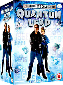 """QUANTUM LEAP THE COMPLETE SERIES COLLECTION BOX SET 27 DISC R4 """"NEW&SEALED"""""""