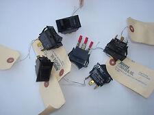 Carling Heavy Duty Rocker Switch HDT1GK54-6S-B6-NBL 10 amp 250VAC 15@125 3/4HP