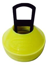 Set 100 Mini Small disc cones Field Marking Neon Yellow spots dots agility speed