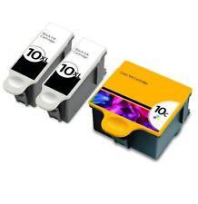 3-Pk/Pack For Kodak 10 XL Ink Cartridges ESP 3 5 7 9 3250 5210 5250 6150 9250