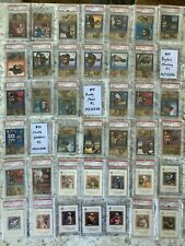 1998 SP Authentic Near Complete PSA 9 10 Set NO Manning Moss or Woodson Rookie