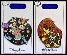 Disney Parks 3 Pin Lot Halloween 2020 Goofy + Pluto - New