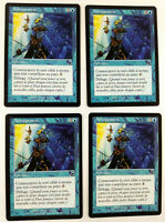 MTG Magic  Playset 4 x Achoppement Hindering Touch  Fleau  EXC VF