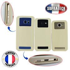Housse Silicone de Protection Universelle Beige pour Smartphone 5,3 à 5,8 pouces