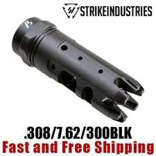Strike Industries 308/7.62/300BLK King Comp Compensator Muzzle Brake 5/8-24 TPI