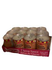 (12) Rico's Premium Cheddar Cheese Sauce 15 Oz Cans-Make Nachos! Full Case Of 12