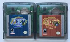Game Boy Color The Legend of Zelda Oracle of Ages + Oracle of Seasons Lot #3