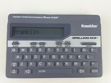 Franklin Spelling Ace Linguistic Model Sa-98A Merriam-Webster