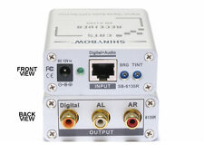 Composite Video Digital Analog Audio Receiver CAT5/6 Extender to 1000ft SB-6135R