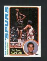 1978-79 Topps #20 George Gervin NM/NM+ Spurs 120196