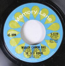 Rock 45 The Easy Riders - Wabash Cannon Ball / Marianne On Memory Lane