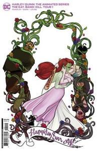 Harley Quinn Animated Series Eat Bang Kill Tour 1 2nd print second Variant DC 3
