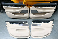 BMW 7er G11 Leder Türverkleidung vorne hinten links rechts schwarz beige