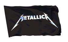 Metallica Flag Banner 3x5 ft Heavy Metal Band Black Rock Unforgiven Sandman