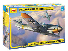 Zvezda 4816 German Fighter Aircraft Messerschmitt BF-109 G6 1/48