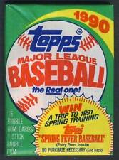 1990 Topps Baseball Wax Pack NEW-Factory Sealed!!!