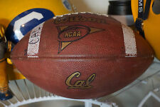 CALIFORNIA GOLDEN BEARS GAME USED WILSON AFCA 1001 2000-2002 era FOOTBALL!!
