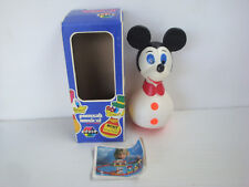 Culbuto ancien Educo France en boite Mickey Mouse Disney WDP vintage toy