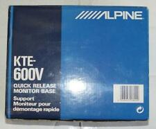 NEW ALPINE KTE-600V QUICK RELEASE MONITOR BASE