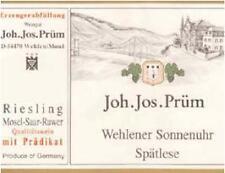3 BT. Wehlener Sonnenuhr - Riesling AUSLESE 2005 top  PRUM J J