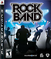 Rock Band 1 Ps3 PlayStation 3 Game For T-Kids (No Instruments) Karaoke Music