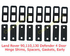 Land Rover 90,110,130 Defender 4 Door, Hinge Shims, Spacers, Gaskets, Early