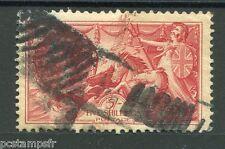 GRANDE-BRETAGNE, GB, 1934-36, timbre 199, EFFIGIE, oblitéré VF STAMP