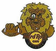 "Hard Rock Cafe Detroit 2007 Football Cartoon Lions ""Leon"" Pin - Hrc #40126"