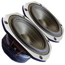"Pair Beyma 5MP60N 5"" Woofer WideRange 50-12Khz Studio Monitor speaker 8ohm 88dB"