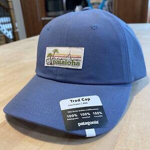Patagonia Pataloha Label Cap - Honolulu - New With Tags - Dolomite Blue - Rare