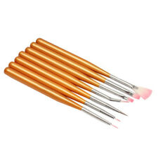 Pennelli 7 PZ Nail Kit Art Unghie Ricostruzione Gel UV Kit DOTTING manicure tj