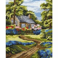 Anchor - Tapestry Kit - Spring Scene - 13 Count - Size: 25 x 20 cm -  MR841