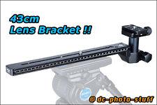 Benro LH400 Lens Bracket for H8 H10 Sachtler Video Head ArcaSwiss