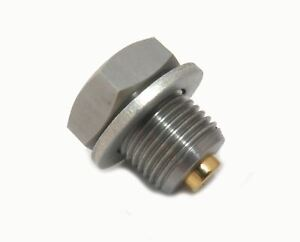 Gold Plug Magnetic Sump Drain Plug M14 x 1.25 Ford, Citreon, Peugeot Models
